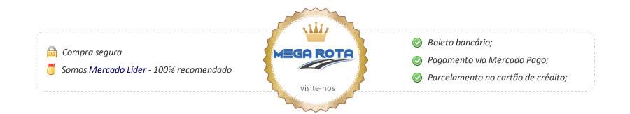 Rodapé Mercado Livre Mega Rota